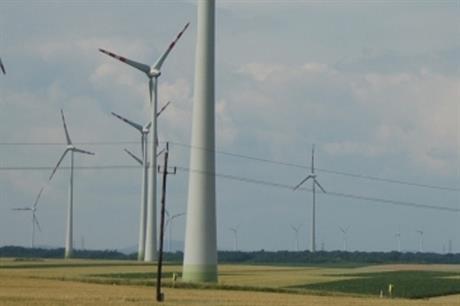 Püspök's Mönchhof Nord project featuring Enercon E101 turbines