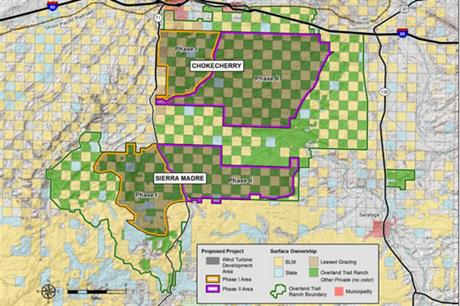 The 1GW+ Chokecherry project is the closest mega-project to completion