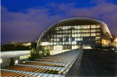 The EIB building in Luxembourg