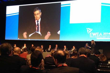 The CEOs panel at EWEA 2014