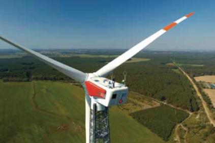 The Fuhrländer 2MW turbine