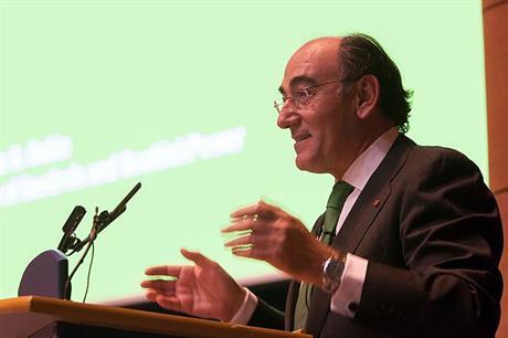 Iberdrola chairman Ignacio Galan