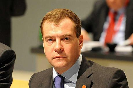 Russian prime minister Dmitry Medvedev approved the projects