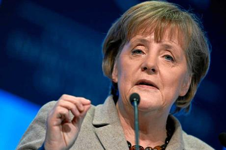 Merkel wins a third term as German chancellor
