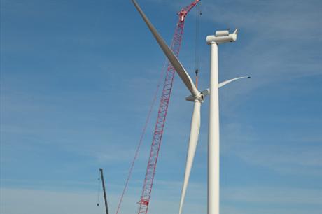 Siemens SWT 2.3 108 turbine
