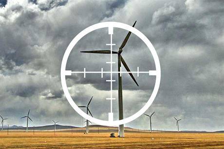 Patent trolls put wind in crosshairs (icon:  HaydenKerrisk.com)