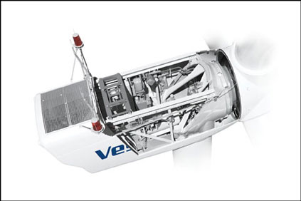 A Vestas V90 nacelle