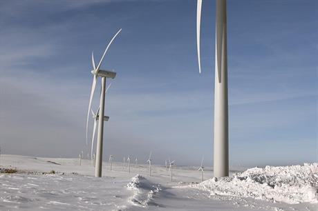 Cold comfort… Developers in northern China plan to sell wind to local heating companies in winter  (pic:Vestas)