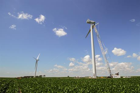 US installed capacity stands over 84GW (pic: Xcel Energy)