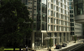 DLA Piper's offices in London
