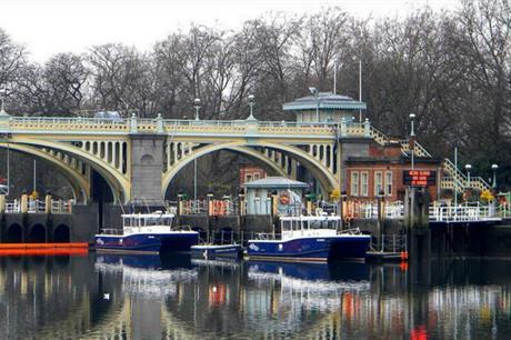 PLA boats at Richmond (credit: Maxwell Hamilton)
