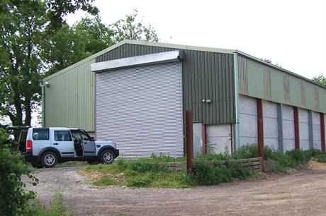 Converting barn into house planning permission house for Turning a metal building into a home