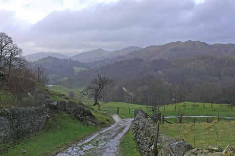 Lake District National Park: park will extend by just 3%