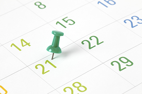 Key dates for practices in 2016/17