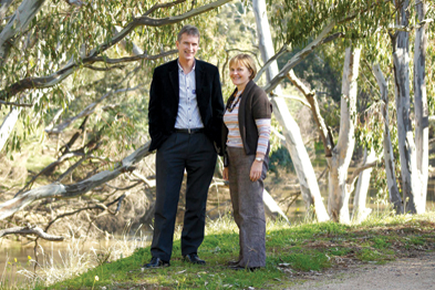 Drs Derek Wooff and Jane Gall are helping establish a rural medical clinic in Shepparton, where medical students will train in rural medicine (Photograph: Author Image)