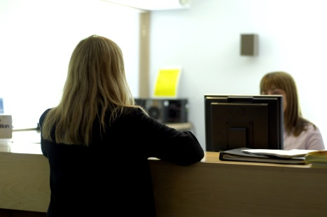 The reception team is a key part of the practice, so it needs to work effectively (Picture: JH Lancy)