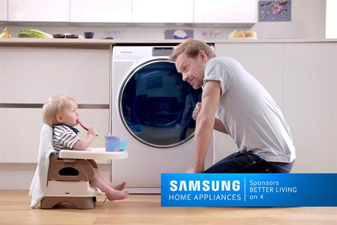Samsung Home Appliances sponsors Channel 4 in seven-figure deal