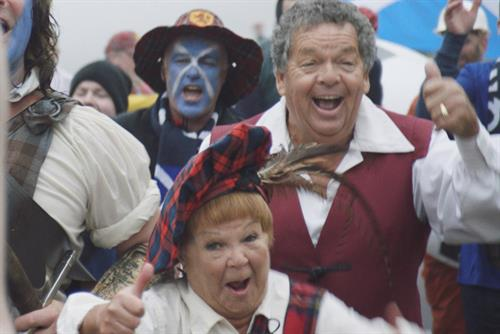 The Krankies join anti-English hoarde for Paddy Power Bantz campaign