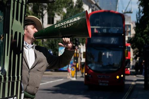 Watch: Hendrick's gin bus offers a new kind of commute