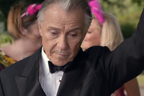 Harvey Keitel helps out a hen do in new Direct Line ad