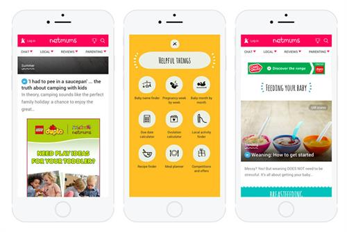 Netmums launches new ad formats in mobile-first refresh