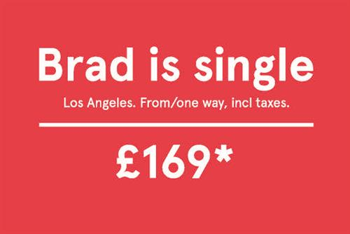 The story behind Norwegian's 'Brad is single' ad
