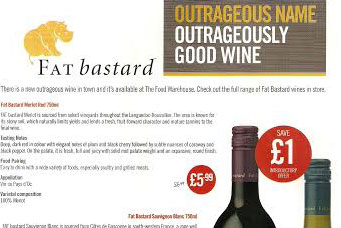 Iceland ads for Fat Bastard wine banned by ASA