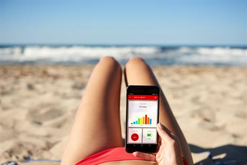 Vodafone's Internet of Things swimsuit detects harmful UV levels