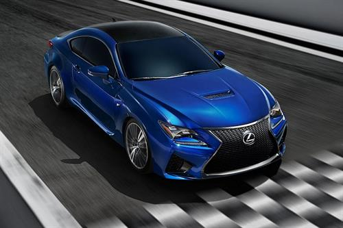 What's it like to drive the Lexus RC F?