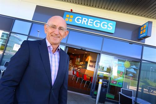 Greggs CEO Roger Whiteside talks turnarounds, M&S and VR pasties