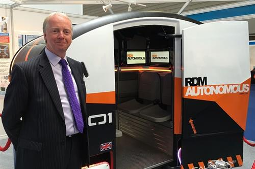 Meet the British entrepreneur building driverless cars