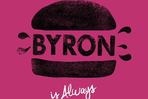 "Byron ""proper hamburgers"" by 101"
