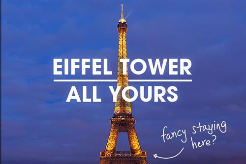 "HomeAway ""Eiffel Tower"" by Saatchi & Saatchi"