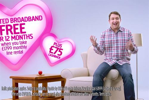 "Plusnet ""Made that way"" by Karmarama"