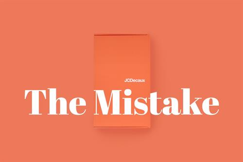 "JCDecaux ""The mistake"" by BBDO Belgium"
