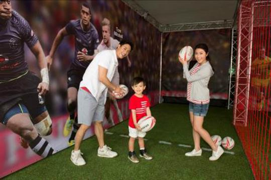 Global: HSBC launches interactive booth for rugby programme