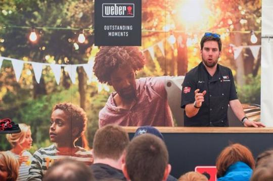 Weber and Sailor Jerry to activate for foodies at Grillstock