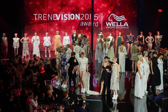 In pictures: Wella's TrendVision final delivers immersive performances