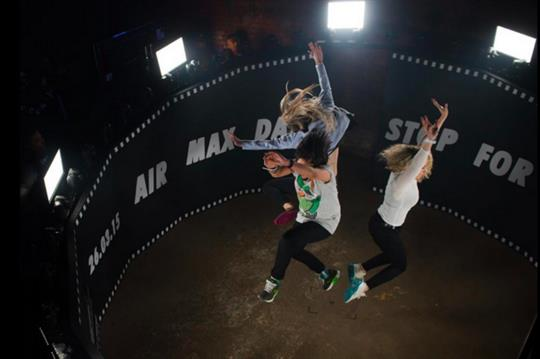 Event TV: Nike's Air Max Day sneaker selfie arena