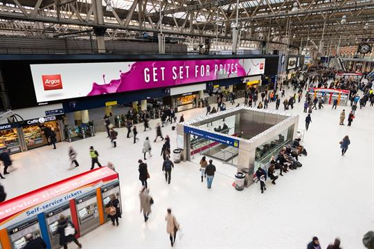 Argos targets commuters with interactive Bubbles game