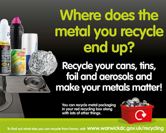 Council hails metal recycling