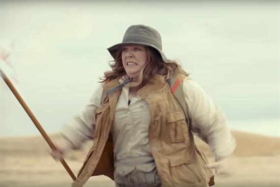 Kia teases a screaming Melissa McCarthy in new Super Bowl film