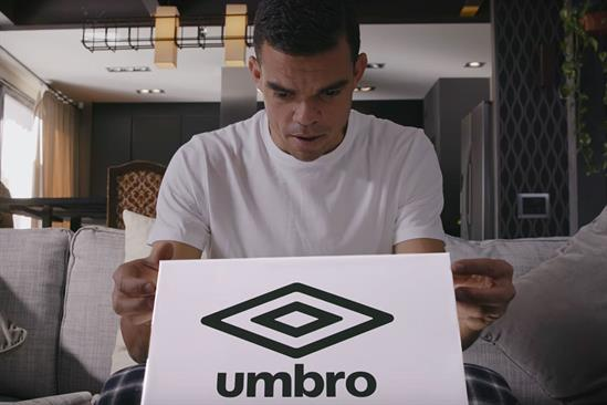 """Umbro """"Pepe's got new boots"""" by Love"""