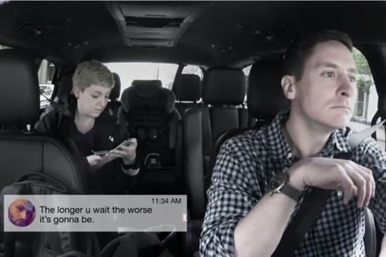 Allstate uses hidden cameras to capture live reactions to financial abuse