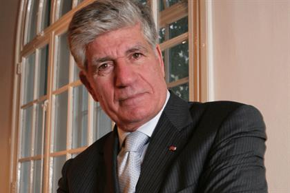 Publicis Groupe CEO Maurice Lévy: Said last month he would step down in 2016