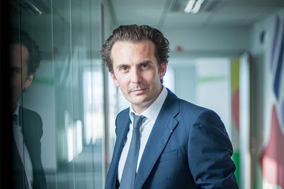 Havas chief executive Yannick Bollore