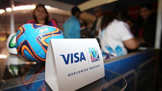 "VISA: Threatened to ""reassess"" FIFA sponsorship following scandals"