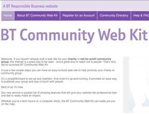 BT Community Web Kit