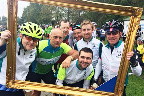 Lloyds Banking Group staff got involved in a number of events to raise money for Alzheimer's charities