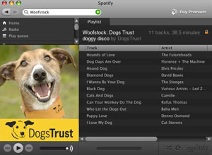 Dogs Trust on Spotify